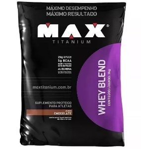 Whey Blend 2 Kg Chocolate - Max Titanium