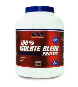 Whey Isolado - 100% Isolado Blend 2kg - Giants
