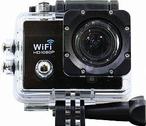 Câmera de Ação Tucano Pro Hero 4 - Wi-Fi - Preta semelhante go pro