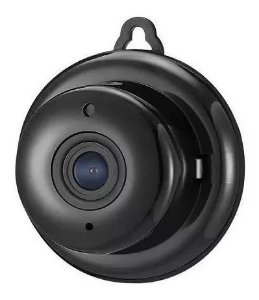 Mini Micro Câmera Monitoramento Espiã Segurança Hd Wifi Visão Noturna Infra