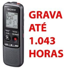 Gravador de voz digital SONY ICD-PX240 1043 Horas