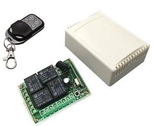 Kit para Automação Residencial Controle com 4 saídas