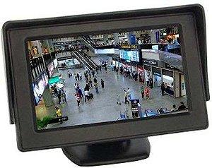 Tela Monitor Lcd 4.3 Para Micro-camera Sem Fio Ou Camera Ré - CFTV