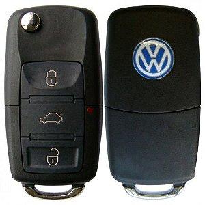 Chave Canivete VW 3 Botões OCA