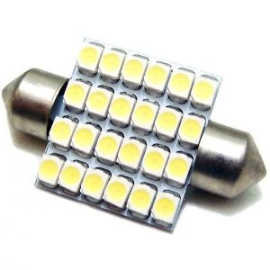 Led Lamp Torpedo 24 leds SMD 1210 36mm