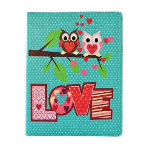 CAPA IPAD 2/3 CORUJA LOVE