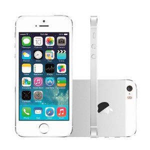 IPHONE 5S 16GB BRANCO E PRATA