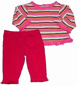 Conjunto camiseta e calça Place