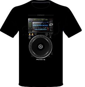 Camisetas para DJ Modelo Pioneer CDJ 2000 NXS2 - Preta