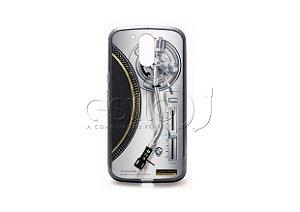 Capa de celular para DJ modelo Moto G4 Plus - Toca Discos Technics SL-1200GAE