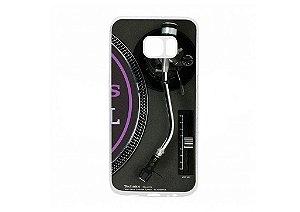 Capa de celular para DJ modelo Samsung Galaxy S6 Edge - Toca Discos Technics SL-1210MK2