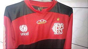 Camisa Do Flamengo De Manga Comprida Tamanho G