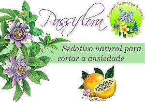 Passiflora em glóbulos 30g para tratamento da ansiedade, irritabilidade e insônia.