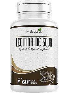 Lecitina de soja 60 cápsulas de 1000 miligramas
