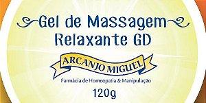 Gel de massagem para alívio da dor e inflamação