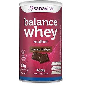 Balance Whey Mulher - Cacau Belga