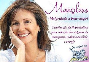 Menoless Manipulado 700mg para tratamento dos sintomas da menopausa, melhora da libido e energia 30 cápsulas