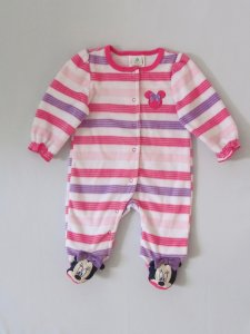 Disney Baby - Macacão Fleece Minnie