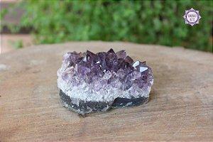 Drusa de Ametista 238g | Cristal de Proteção, Transmutação e Comunicação Divina