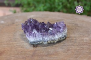 Drusa de Ametista 164g | Cristal de Proteção, Transmutação e Comunicação Divina
