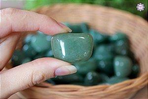Quartzo Verde Rolado (de 2cm a 3cm a unidade) | Cristal de Cura e Limpeza Emocional