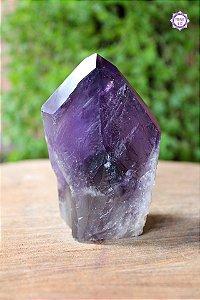Ponta de Ametista Especial (9cm) | Cristal de Proteção, Transmutação e Comunicação Divina