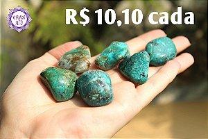 Crisocola Rolada (aprox. 13g) | Pedra da Comunicação, Expressão e Poder!