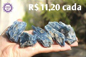 Cianita Azul (aprox. 36g) | Pedra da Telepatia, Recordação de Vidas Passadas e Arcanjo Miguel!