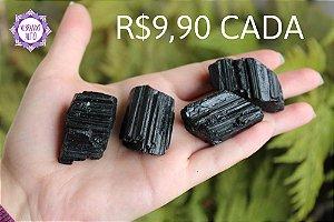 Turmalina Negra Bruta (Aprox. 30g)| Pedra de Proteção e Purificação!