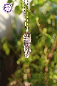 Pingente Ametista Ponta Bruta (Pino Prateado) - 7g | Cristal de Proteção e Transmutação!