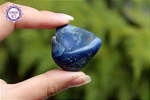 Quartzo Azul Rolado 32g | Sintonia Psíquica, Autodisciplina, Força Interior!