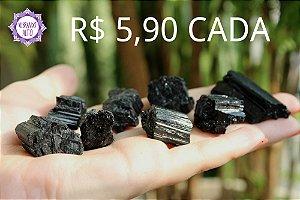 Turmalina Negra Bruta (Pequena aprox. 10g) | Pedra de Proteção e Purificação!