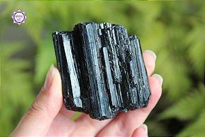 Turmalina Negra Bruta 200g | Pedra de Proteção e Purificação!
