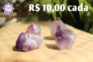 Ametista Ponta Bruta (aprox. 73g) | Cristal de Proteção, Transmutação e Comunicação Divina!