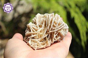 Rosa do Deserto 125g | Pedra do Propósito de Vida e Viagem Interdimensional!