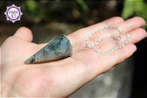 Pêndulo de Esmeralda (Facetado) 19g | Pedra do Amor Divino, Cura e Prosperidade!