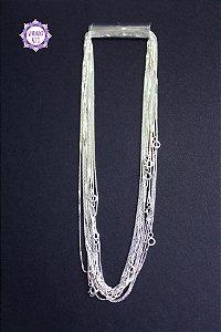 Corrente Veneziana para Pingente (Prata 925) 40 cm