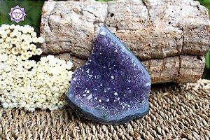 Drusa de Ametista 217g | Cristal de Proteção, Transmutação e Comunicação Divina!