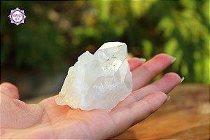 Drusa de Cristal 117g | Cristal de Limpeza, Purificação e Cura!