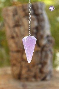 Pêndulo de Ametista | Cristal de Proteção, Transmutação e Comunicação Divina