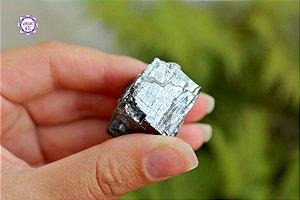 Galena 68g | Pedra da Autotransformação Alquímica e Alinhamento com o Coração da Terra!