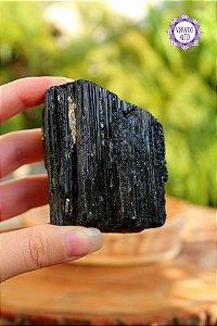 Turmalina Negra Bruta 236g | Pedra de Proteção e Purificação!