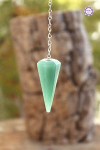Pêndulo de Quartzo Verde | Pedra de Cura e Manifestação