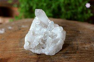 Drusa de Quartzo 281g | Cristal de Limpeza, Purificação e Cura