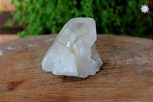 Drusa de Quartzo 335g | Cristal de Limpeza, Purificação e Cura