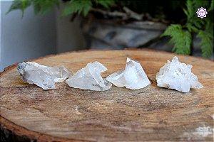 Drusa de Quartzo Pequena (Aprox. 38g) | Cristal de Limpeza, Purificação e Cura