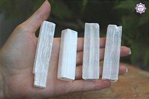 Selenita Pequena (de 20g a 35g) | Pedra de Ativação Espiritual