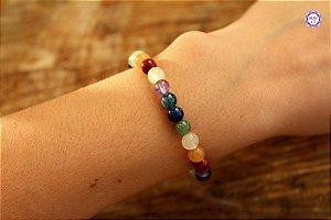 Pulseira de Cristais 7 Chakras | A energia dos cristais sempre com você