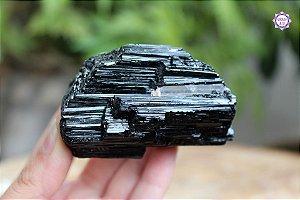 Turmalina Negra Bruta 213g | Pedra para Proteção e Purificação