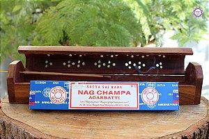 Incenso Importado Nag Champa Agarbatti caixa com 12 varetas